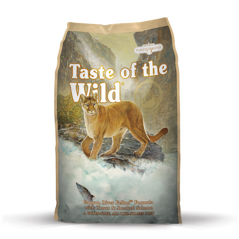 Taste Of The Wild Canyon River Grain Free All Life Stage Cat Food 2kg