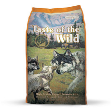 Taste Of The Wild High Prairie Grain Free All Breeds Puppy Food 13kg To 2 X 13kg