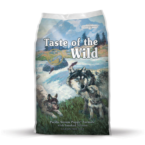 Taste Of The Wild Pacific Stream Grain Free All Breeds Puppy Food 6kg