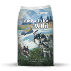 Taste Of The Wild Pacific Stream Grain Free All Breeds Puppy Food 13kg To 2 X 13kg