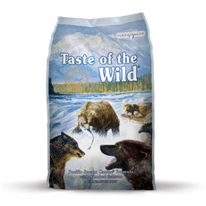 Taste Of The Wild Pacific Stream Grain Free All Breeds Dog Food 13kg To 2 X 13kg
