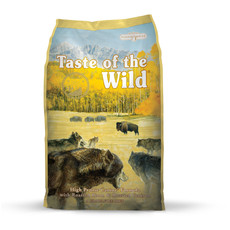 Taste Of The Wild High Prairie Canine Formula Grain Free Dog Food 13kg To 2 X 13kg