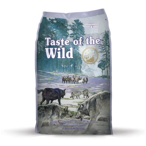 (d) Taste Of The Wild Sierra Mountain Grain Free All Breeds & Life Stage Dog Food 6kg