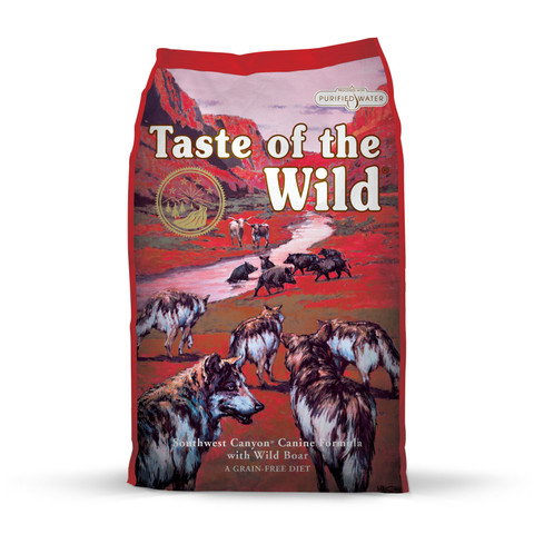 Taste Of The Wild Southwest Canyon Grain Free All Breeds & Life Stage Dog Food 2kg