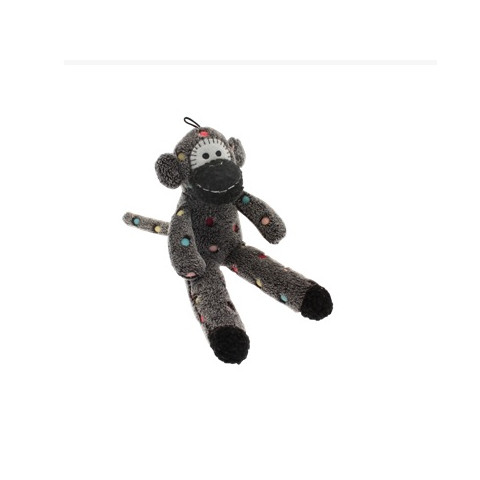Happy Pet Sock Monkey Dog Toy