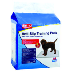 Animal Instincts Anti-slip Puppy Toilet Training Pads 15 Pack