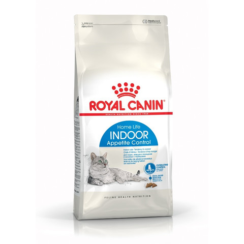 Royal Canin Home Life Indoor Appetite Control Adult Cat Food 4kg