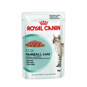 Royal Canin Hairball Care Cat Food In Gravy Pouches 12 X 85g