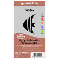Peregrine Livefoods Frozen Gamma Blister Pack Tubiflex 95g