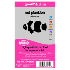 Peregrine Livefoods Frozen Gamma Blister Pack Red Plankton 95g