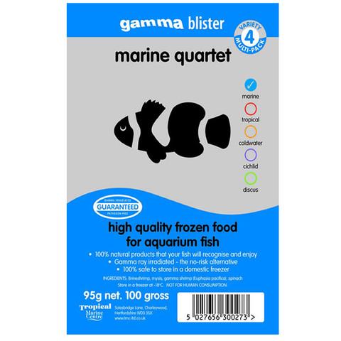 Peregrine Livefoods Frozen Gamma Blister Pack Marine Quartet 95g