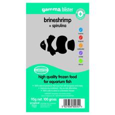 Peregrine Livefoods Frozen Gamma Blister Pack Brineshrimp And Spirulina 95g