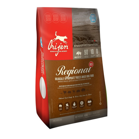 Orijen Whole Prey Regional Red Freeze Dried Dog Food 170g