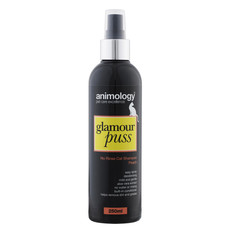Animology Glamour Puss No Rinse Cat Shampoo Peach 250ml