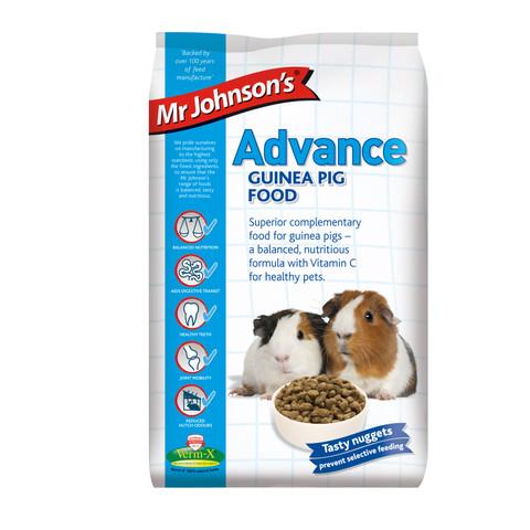 Mr Johnsons Advance Guinea Pig Food 10kg