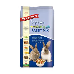 Mr Johnsons Supreme Tropical Fruit Rabbit Mix Food 2.25kg