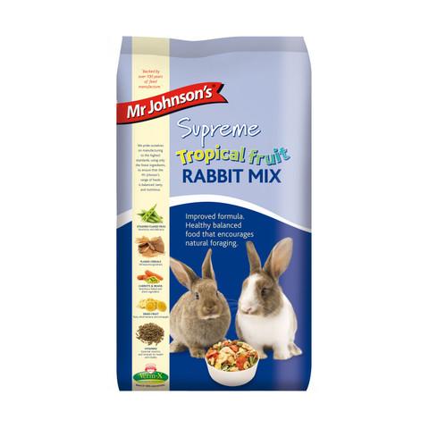 Mr Johnsons Supreme Tropical Fruit Rabbit Mix Food 15kg