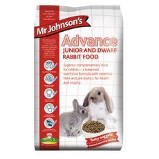 Mr Johnsons Advance Junior And Dwarf Rabbit Food 1.5kg