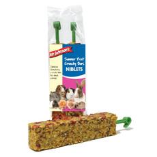 Mr Johnsons Summer Fruit Crunchy Bars Niblets 2 Pack