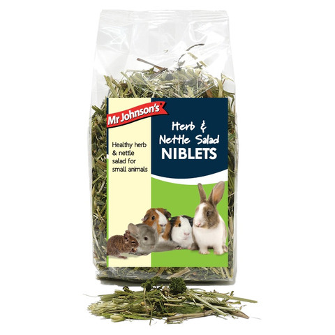 Mr Johnsons Herb And Nettle Salad Niblets 100g To 6 X 100g