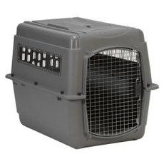 Petmate Sky Vari Kennel Extra Large Airline Approved Iata 91/628/eec 101x68x76