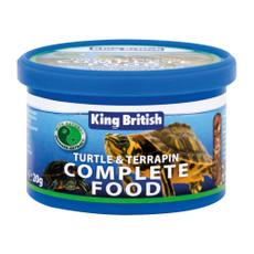 King British Turtle And Terrapin Complete Food 80g
