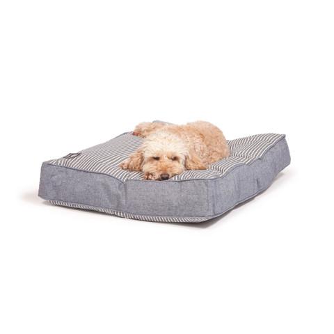 Danish Design Blue Maritime Box Duvet Dog Bed Medium