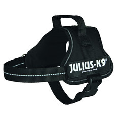 Julius K9 Powerharness Black Dog Harness Mini