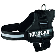 Julius K9 Powerharness Black Dog Harness Size 1