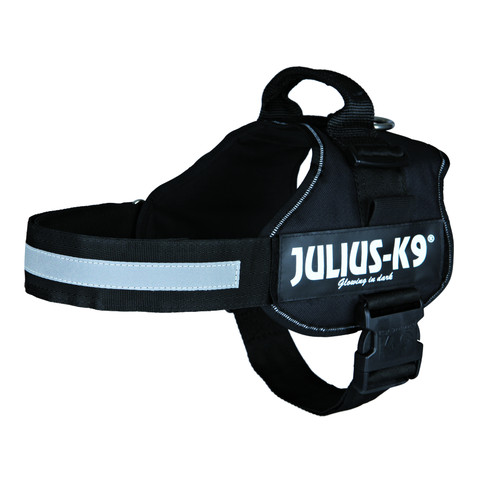 Julius K9 Powerharness Black Dog Harness Size 2