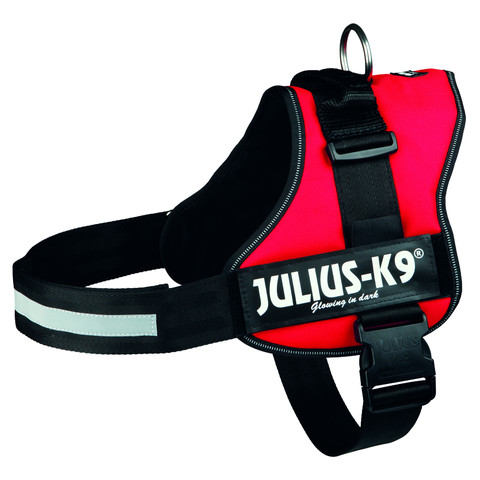 Julius K9 Powerharness Red Dog Harness Size 3
