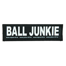 Julius K9 Powerharness Reflective Velcro Ball Junkie Stickers Small