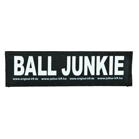 Julius K9 Powerharness Reflective Velcro Ball Junkie Stickers Small