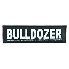 Julius K9 Powerharness Reflective Velcro Bulldozer Stickers Large