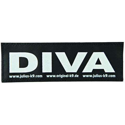 Julius K9 Powerharness Reflective Velcro Diva Stickers Small
