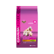 Eukanuba Adult Weight Control Medium Breed Dry Dog Food 3kg
