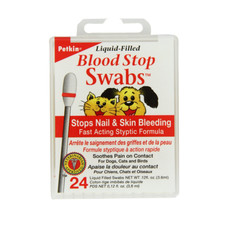 Petkin Blood Stop Swabs For Dogs And Cats