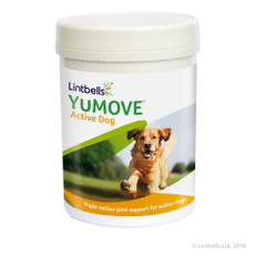 Lintbells Yumove Young And Active Joint Care Supplement Tablets For Dogs 240 Tab