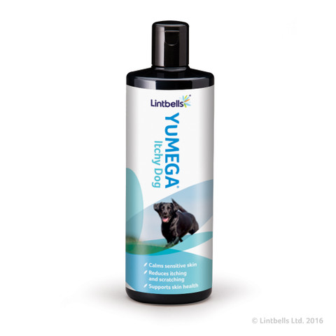 Lintbells Yumega Itchy Dog For Dogs With Sensitive Skin 500ml