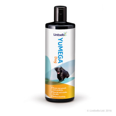 Lintbells Yumega Skin And Coat Supplement For Dogs 500ml