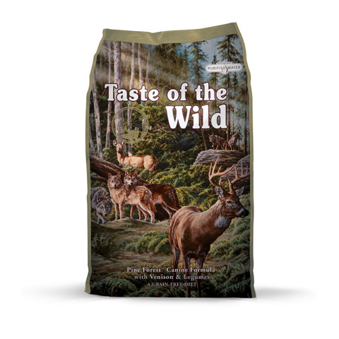 Taste Of The Wild Pine Forest Grain Free All Breeds & Life Stage Dog Food 6kg