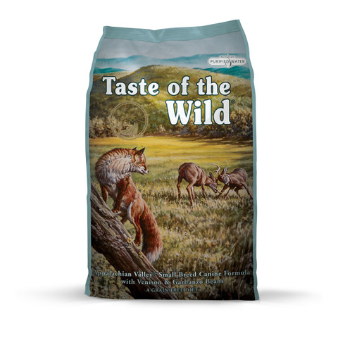 Taste Of The Wild Appalachian Valley Grain Free All Small Breeds Adult Dog Food 2kg