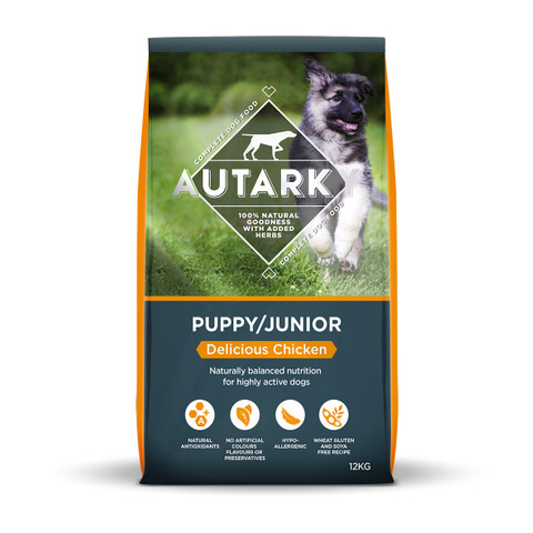 Autarky Delicious Chicken Puppy And Junior Food 12kg