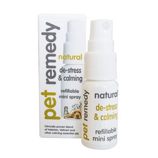 Pet Remedy Natural De-stress And Pet Calming Mini Spray 15ml