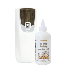 (d) Pet Remedy Natural De-stress And Pet Calming Atomiser Kit