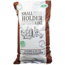 Allen & Page Small Holder Range Goose And Duck Grower/finisher Pellets Poultry Feed 20kg