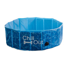 All For Paws Chill Out Splash And Fun Dog Paddling Pool Large