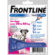 Frontline Spot On Flea Drops For Large Breed Dogs And Puppies (20-40kg) 1 Pipette