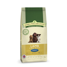 James Wellbeloved Puppy With Lamb And Rice 2kg To 2 X 15kg