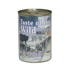 Taste Of The Wild Sierra Mountain Canine Canned Wet Formula In Gravy 390g To 12 X 390g